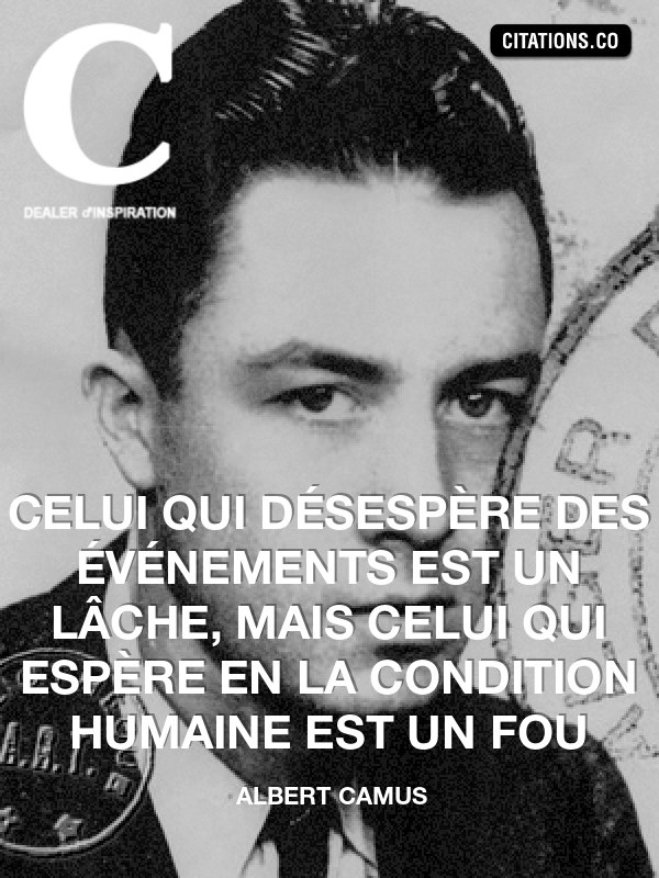 Citation de Albert Camus-1432900