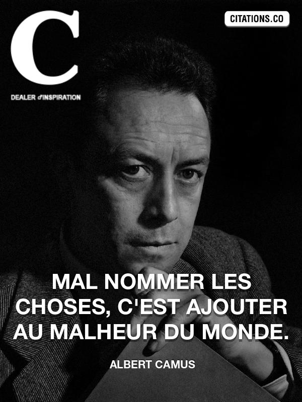Citation : Albert camus - Citation-inspiration.com