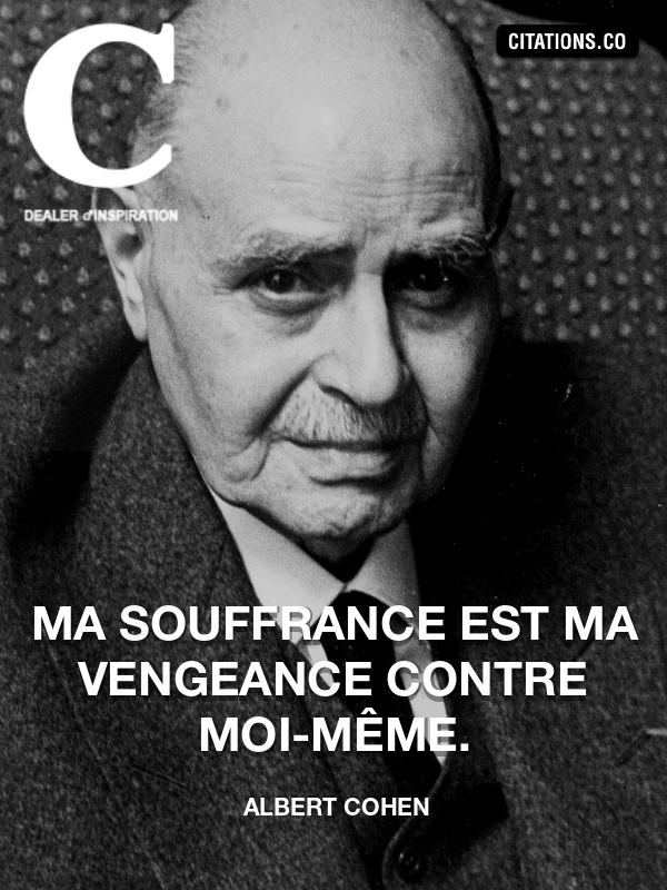 Citation de Albert Cohen