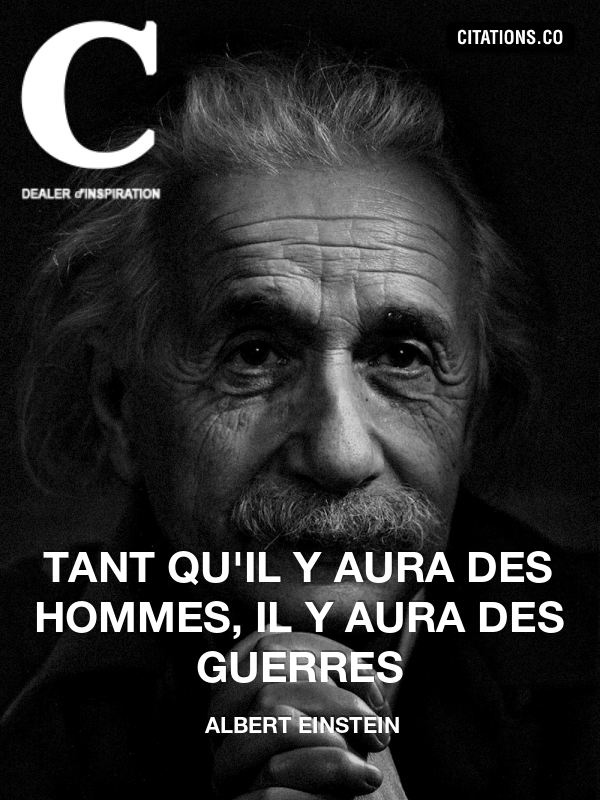 Citation de Albert Einstein-2159136