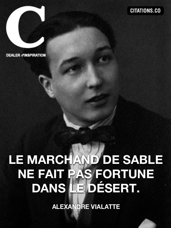 Citation de Alexandre Vialatte