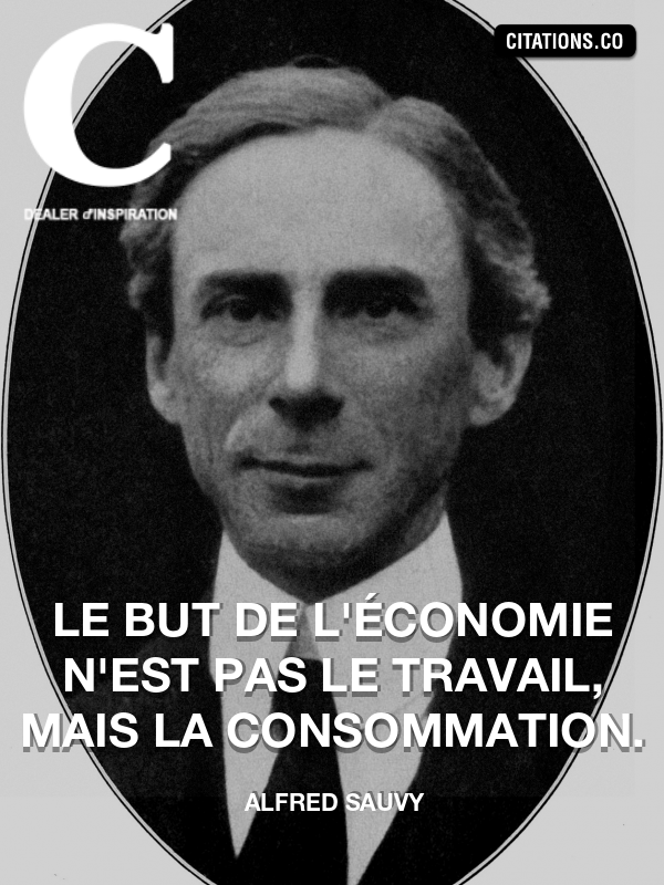 Citation de Alfred Sauvy