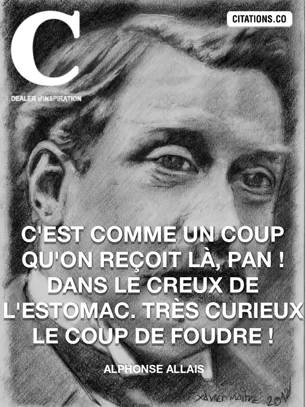Citation de Alphonse Allais