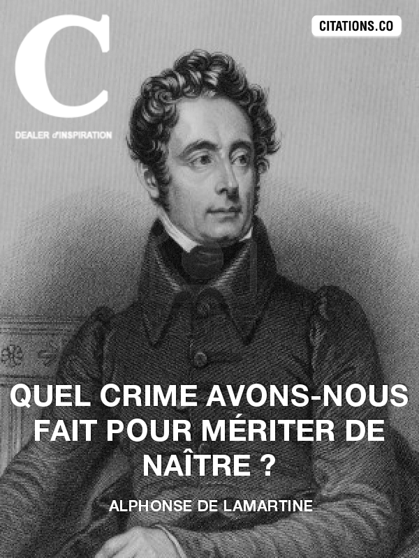 Citation de Alphonse de Lamartine-26705300