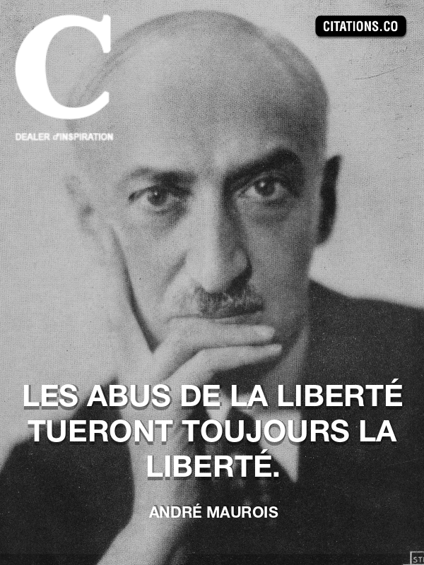 Citation de André Maurois