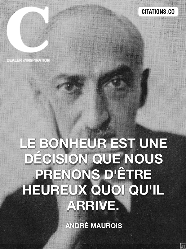 Citation de André Maurois-5ae8c742622e1