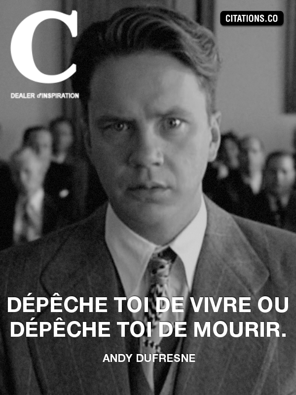 Citation de Andy Dufresne
