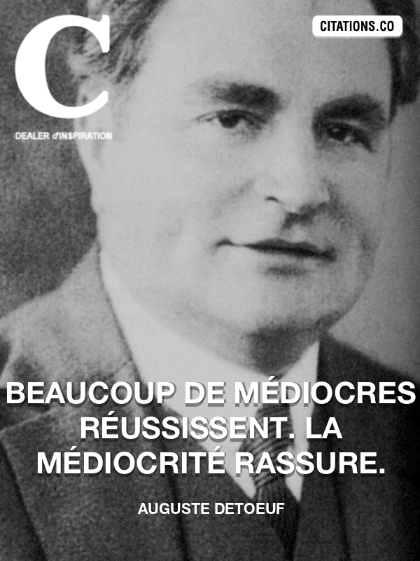 Citation de Auguste Detoeuf