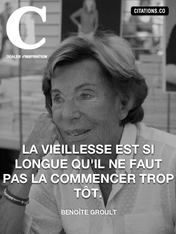 Citation de Benoîte Groult