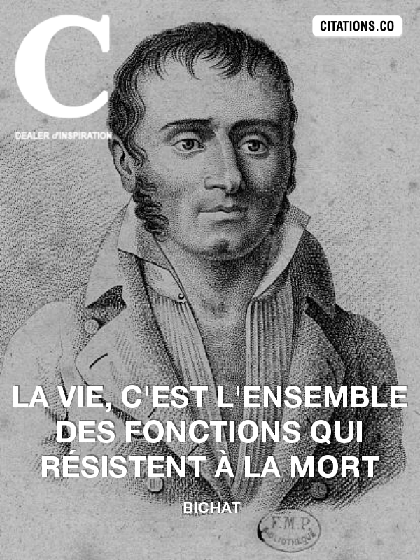 Citation de Bichat-10845900