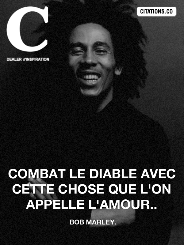 Citation de Bob Marley.-4668660