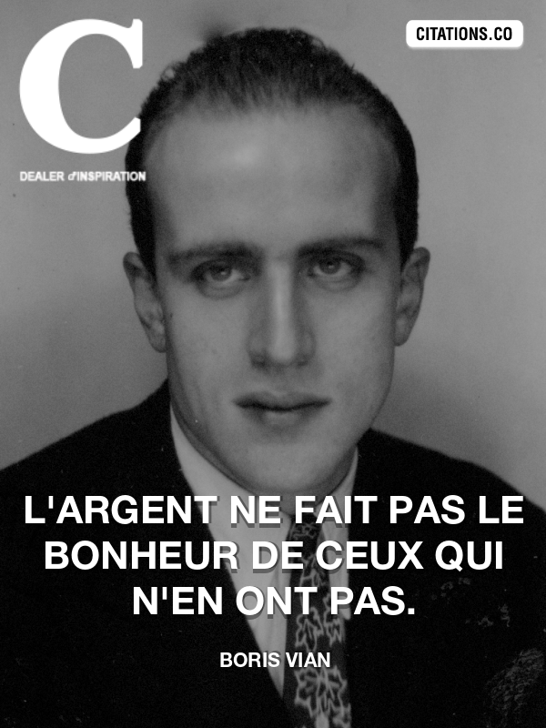 Citation de Boris Vian-5a9f39929dc51