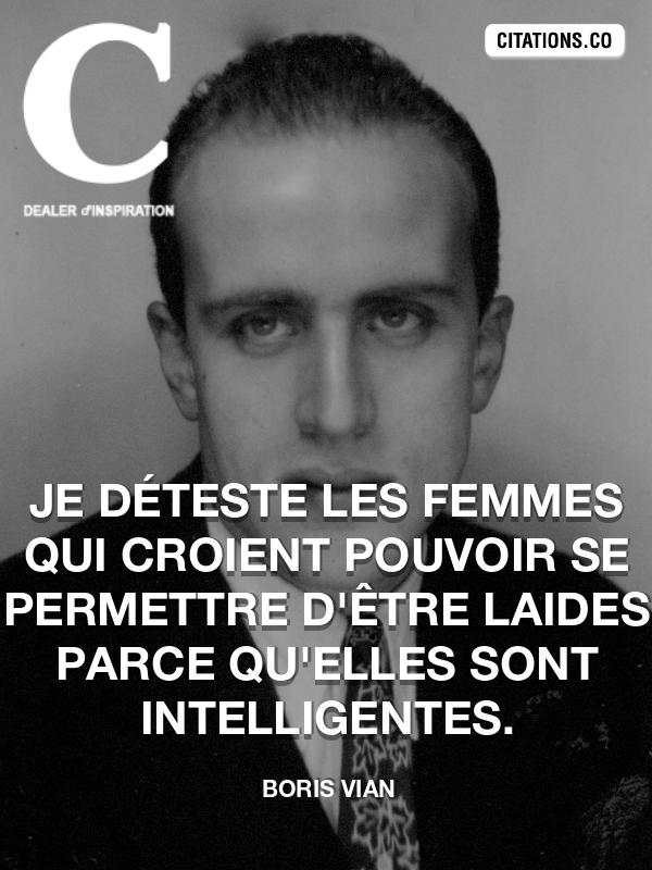 Citation De Boris Vian Citation N 7502