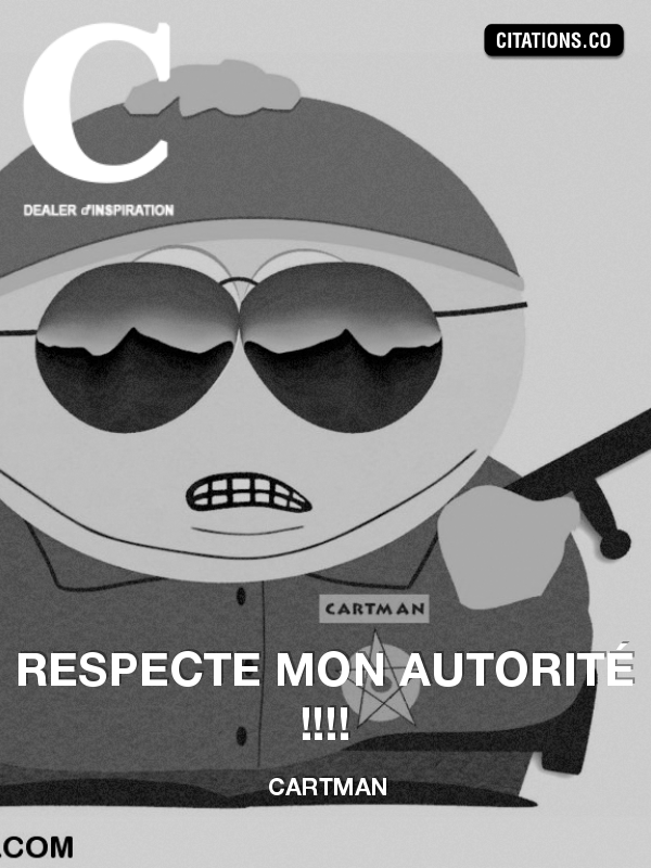 Citation de Cartman