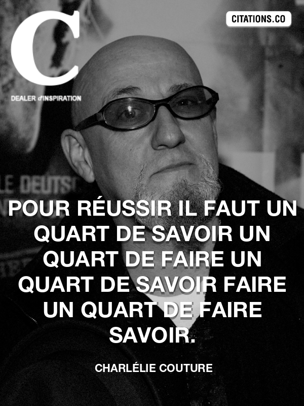 Citation de Charlélie Couture