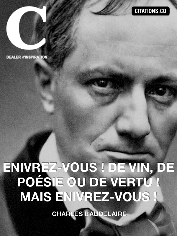 Citation de Charles Baudelaire