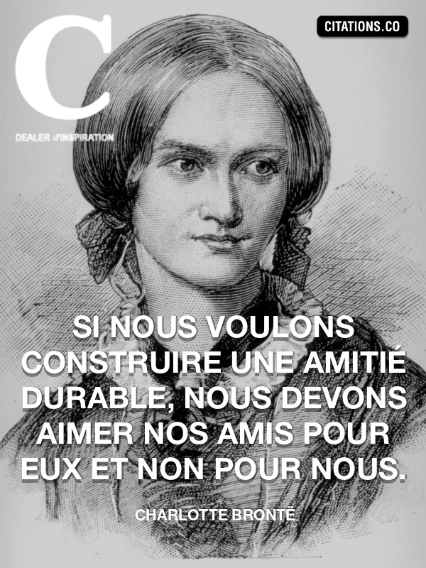 Citation de Charlotte Brontë