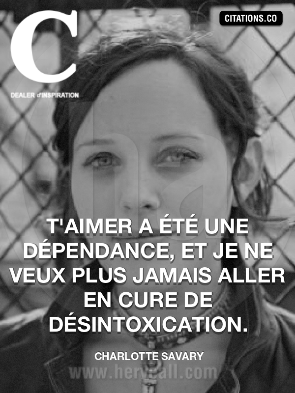 Citation de Charlotte Savary