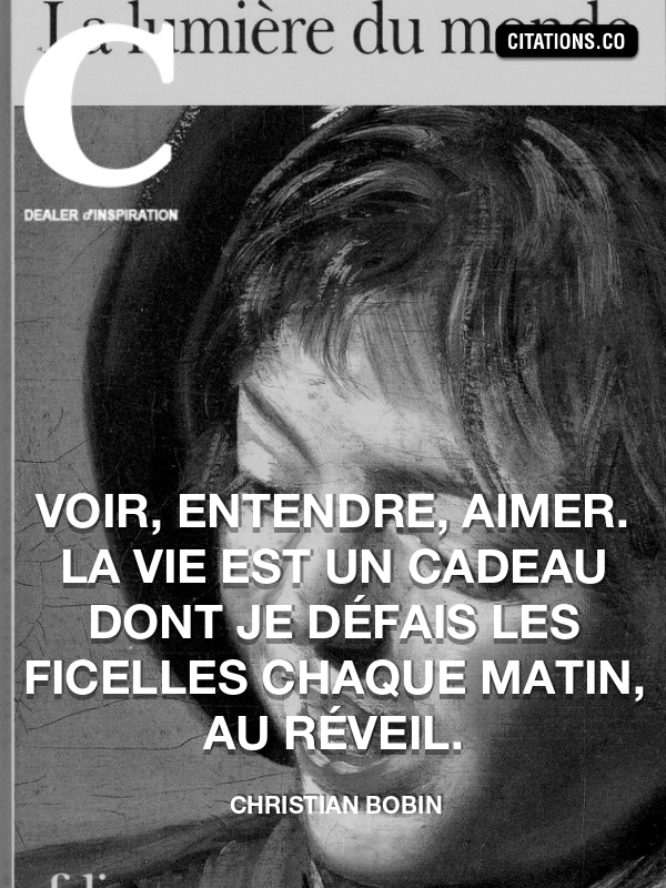 Citation De Christian Bobin Citation N 9196