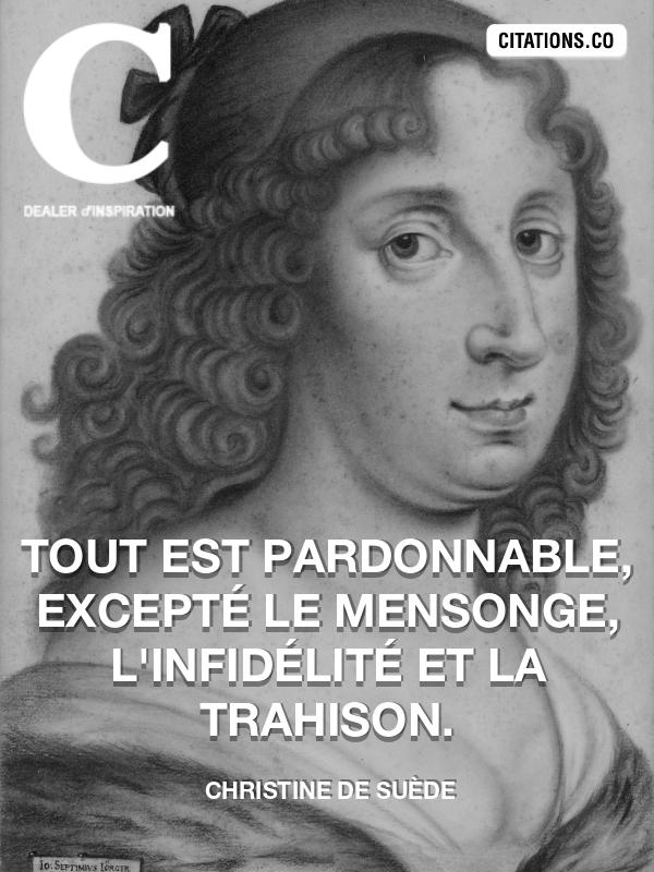 Citation De Christine De Suède Citation N 4869