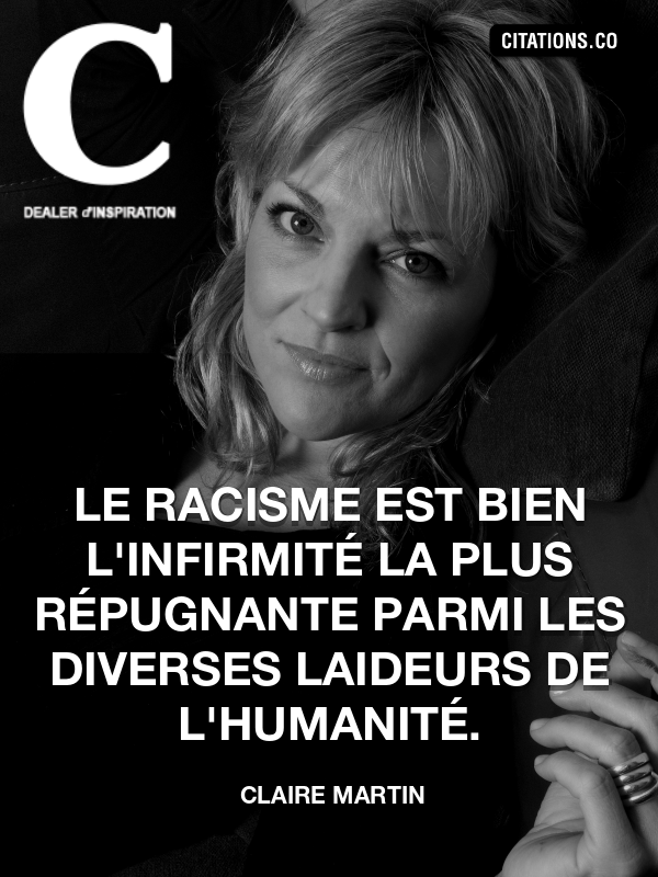 Citation de Claire Martin