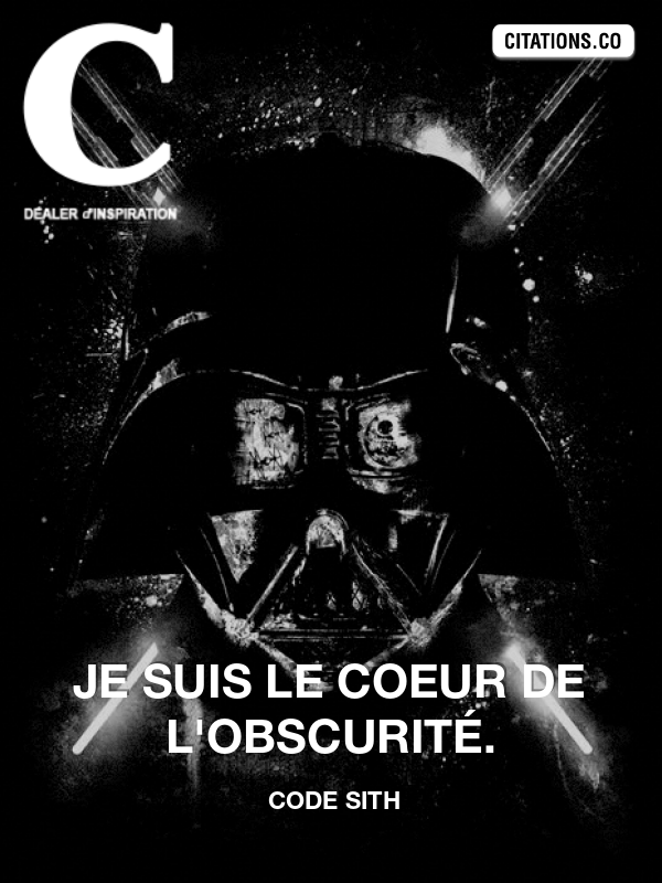 Citation de Code Sith -11704050
