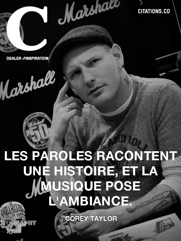 Citation de Corey Taylor-92784