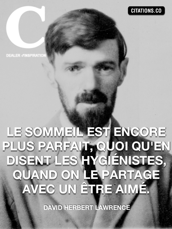 Citation de David Herbert Lawrence