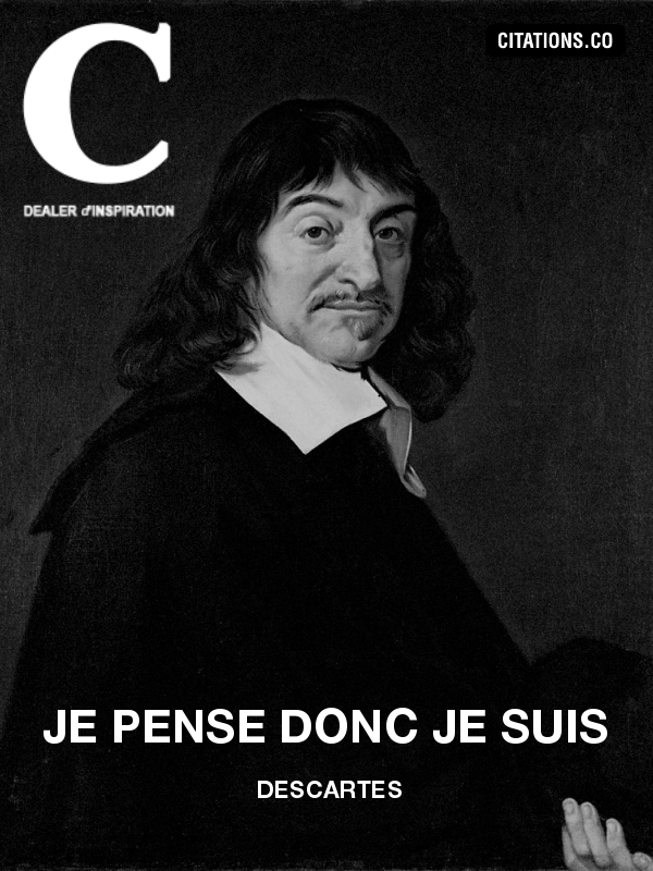 Citation de Descartes-10944270