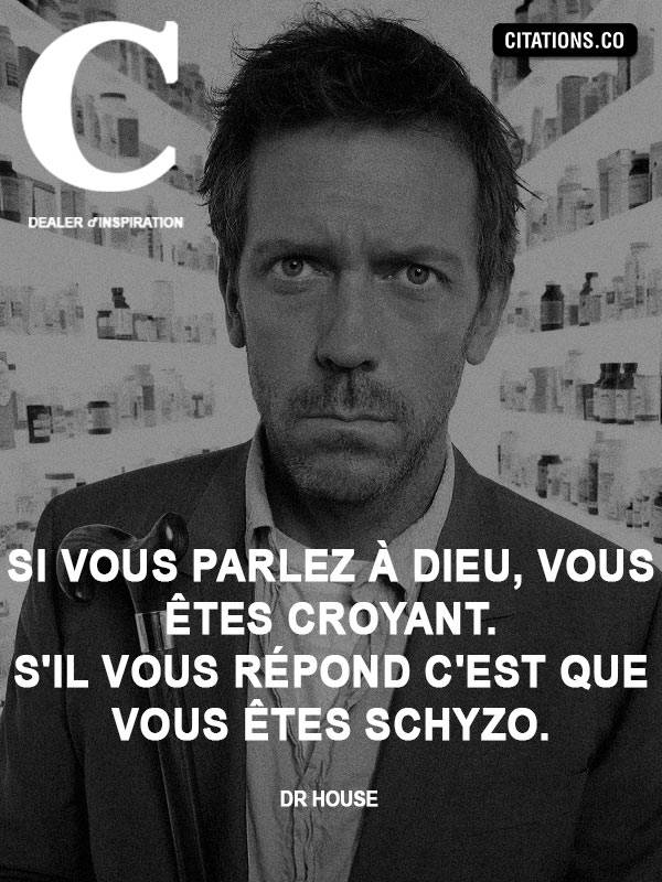 Citation de Dr House
