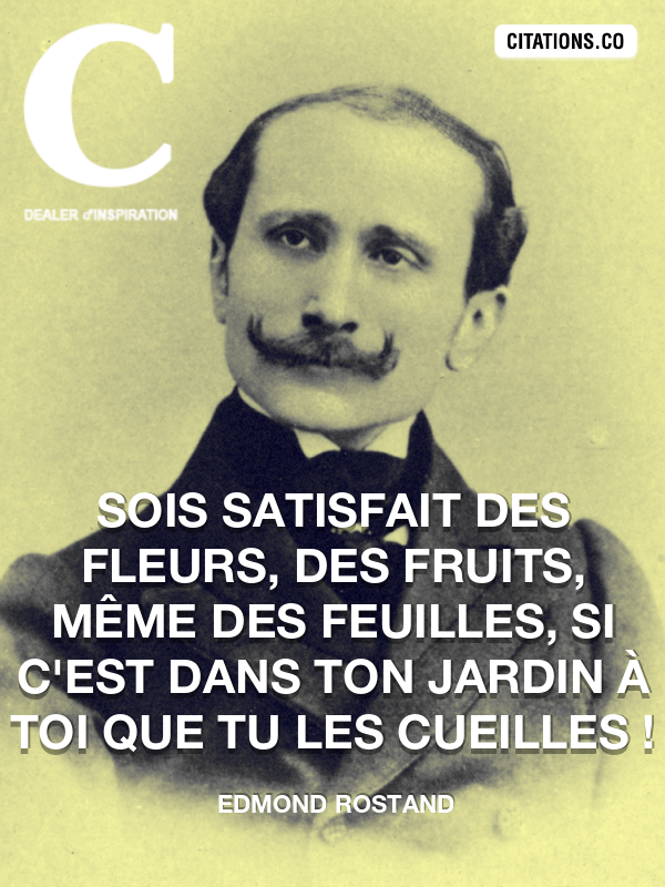 Citation de Edmond Rostand