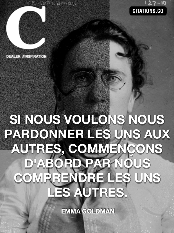 Citation de Emma Goldman
