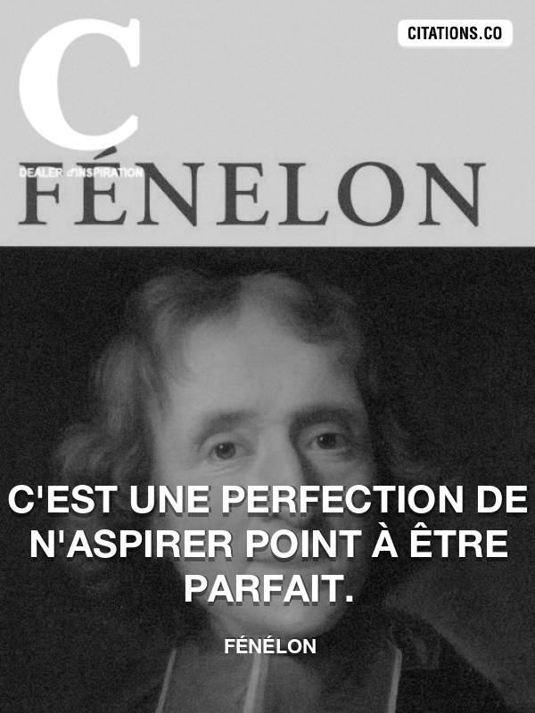 Citation de Fénélon