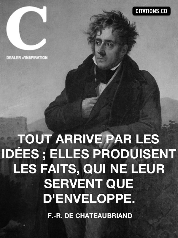 Citation de F.-R. de Chateaubriand-29520128