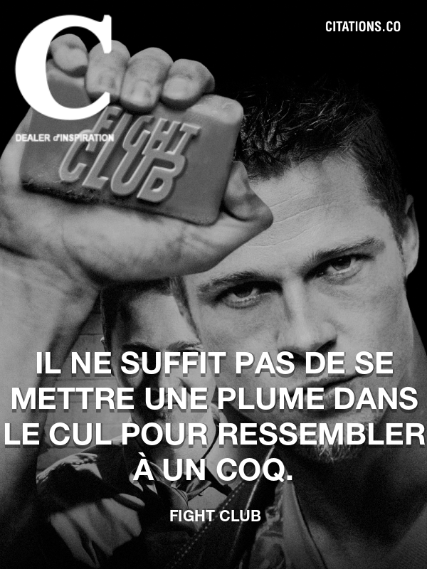 Citation de Fight Club