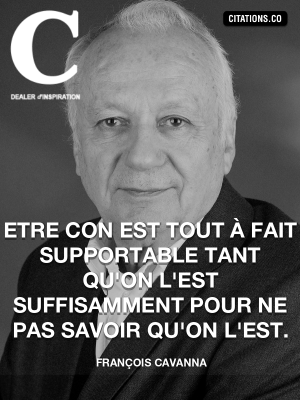 Citation de François Cavanna