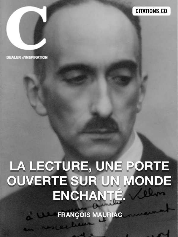Citation de François Mauriac-5b0eae62efd45