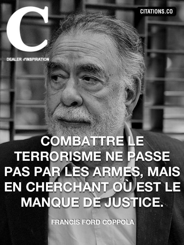 Citation de Francis Ford Coppola