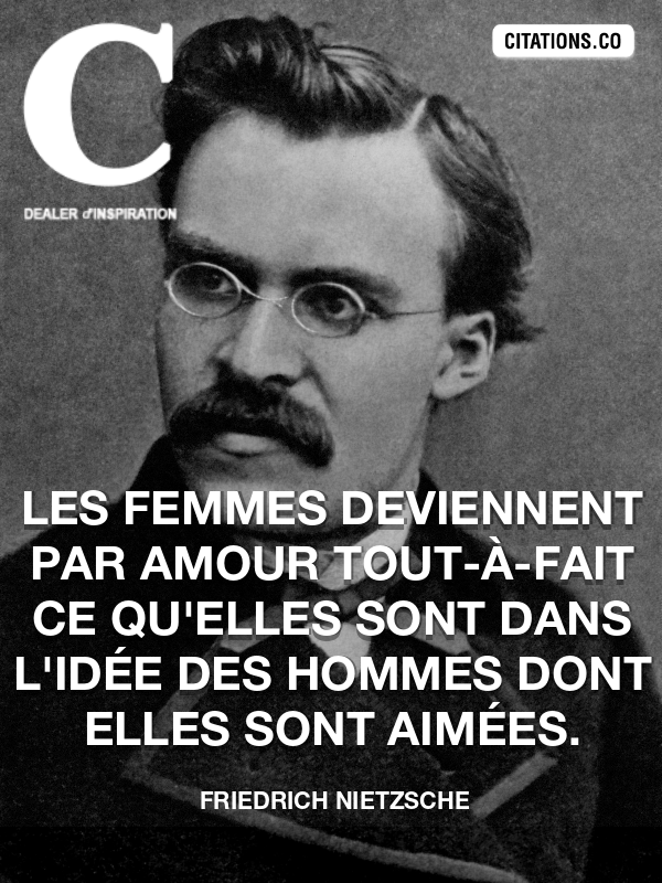 Citation Nietzsche Femme : Citation de friedrich nietzsche citation n°