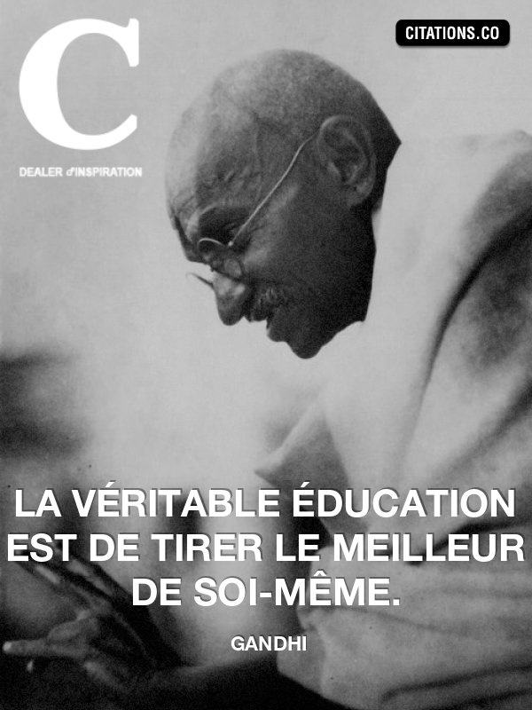 Citation de Gandhi-1900272