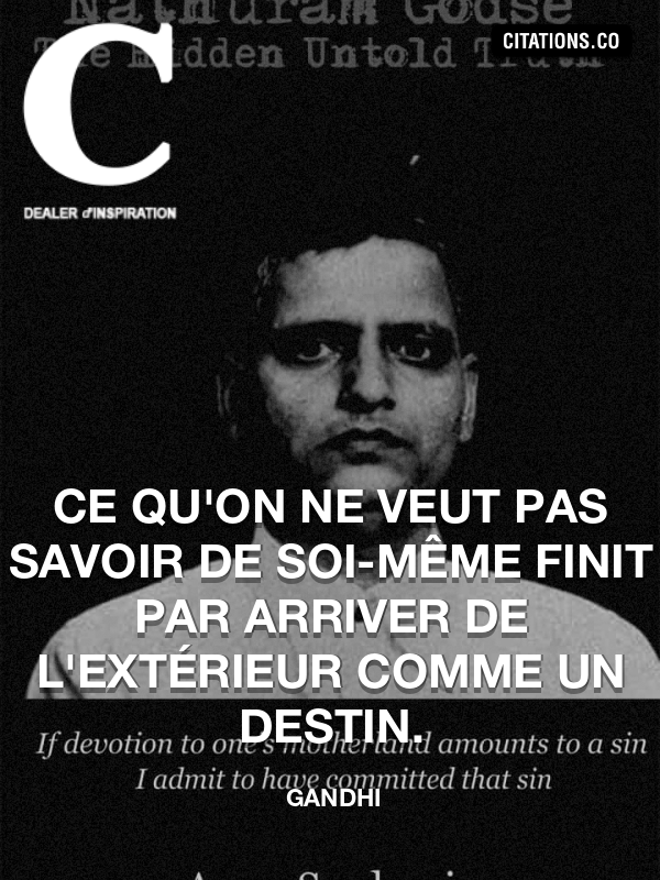 Toutes les citations de GANDHI - Citation-inspiration.com