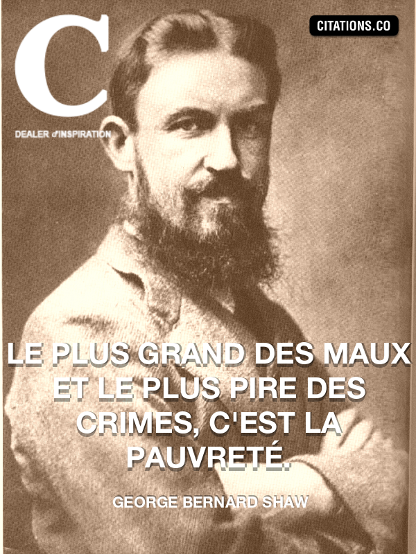 Citation de george bernard shaw