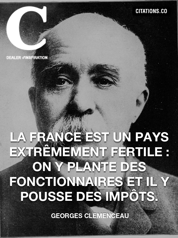 Citation de georges clemenceau