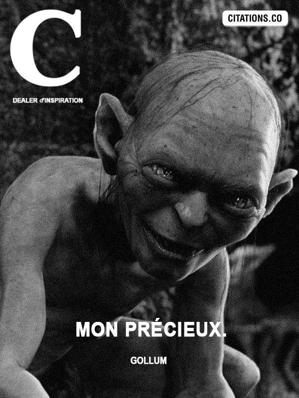 Citation de Gollum