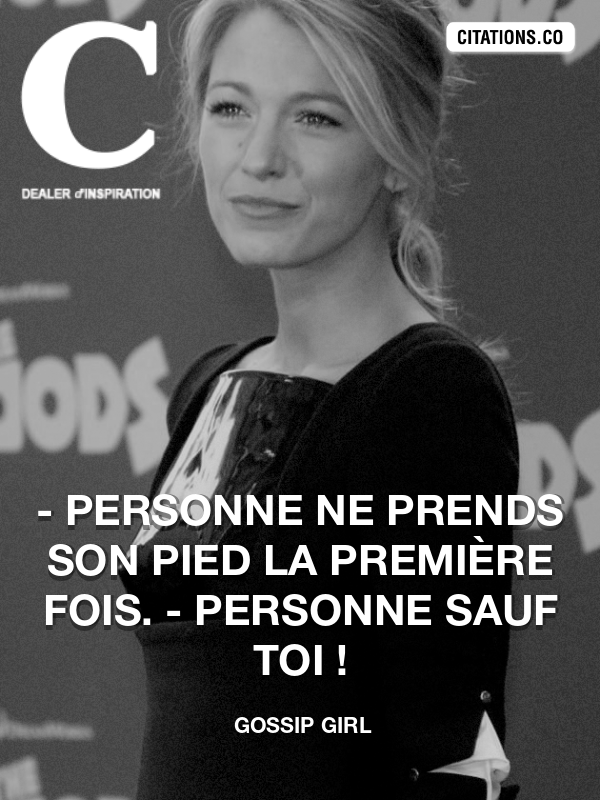 Citation de Gossip Girl-5a80a0c3507bc