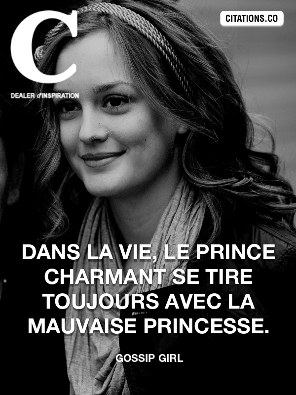 Citation de Gossip Girl