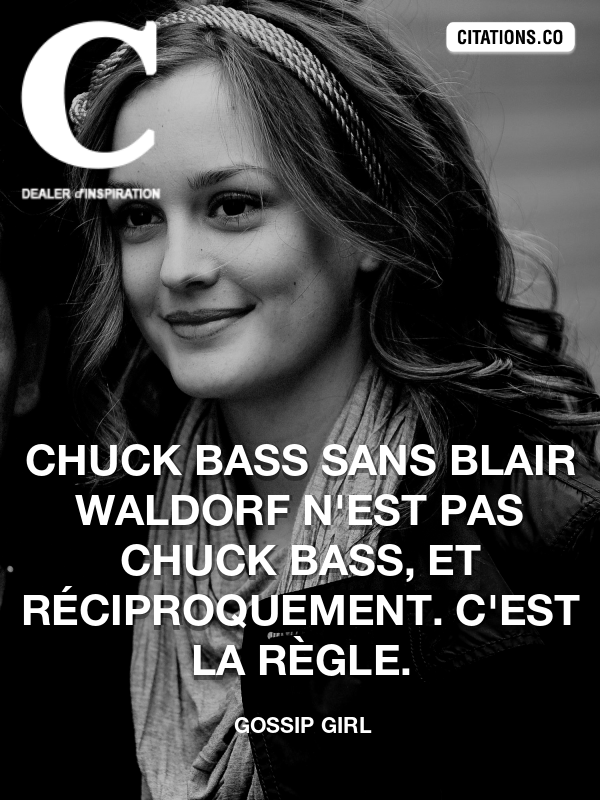 Citation de Gossip Girl-5ad8144332fbd