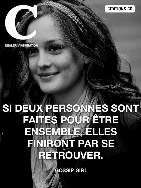 Citation de Gossip Girl-5b27acd285db7