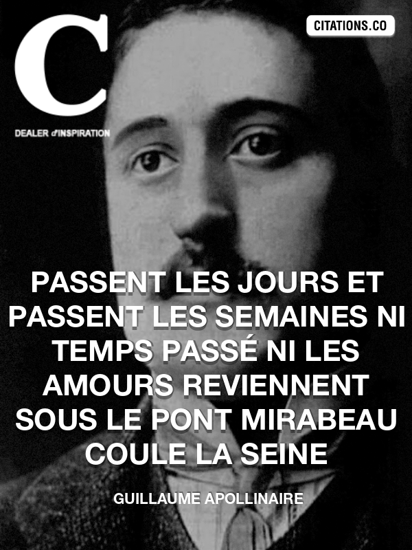 Citation de Guillaume Apollinaire-5aeed22350472