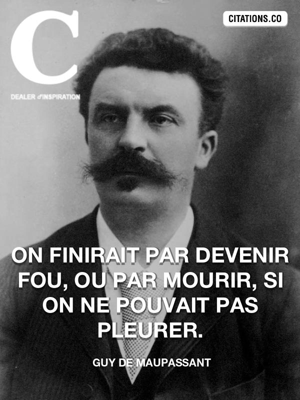 Citation De Guy De Maupassant Citation N 7114